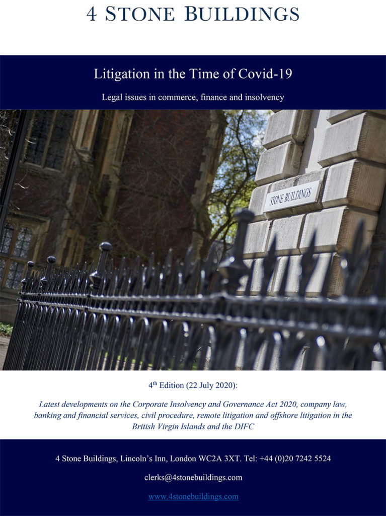 Litigation in the Time of Covid-19