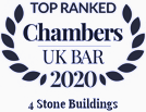 Chambers UK Bar 2020: Top Ranked